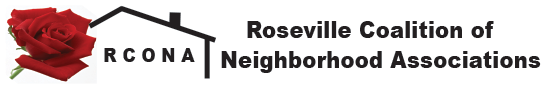 RCONA | Roseville Coalition of Neighborhood Associations Logo